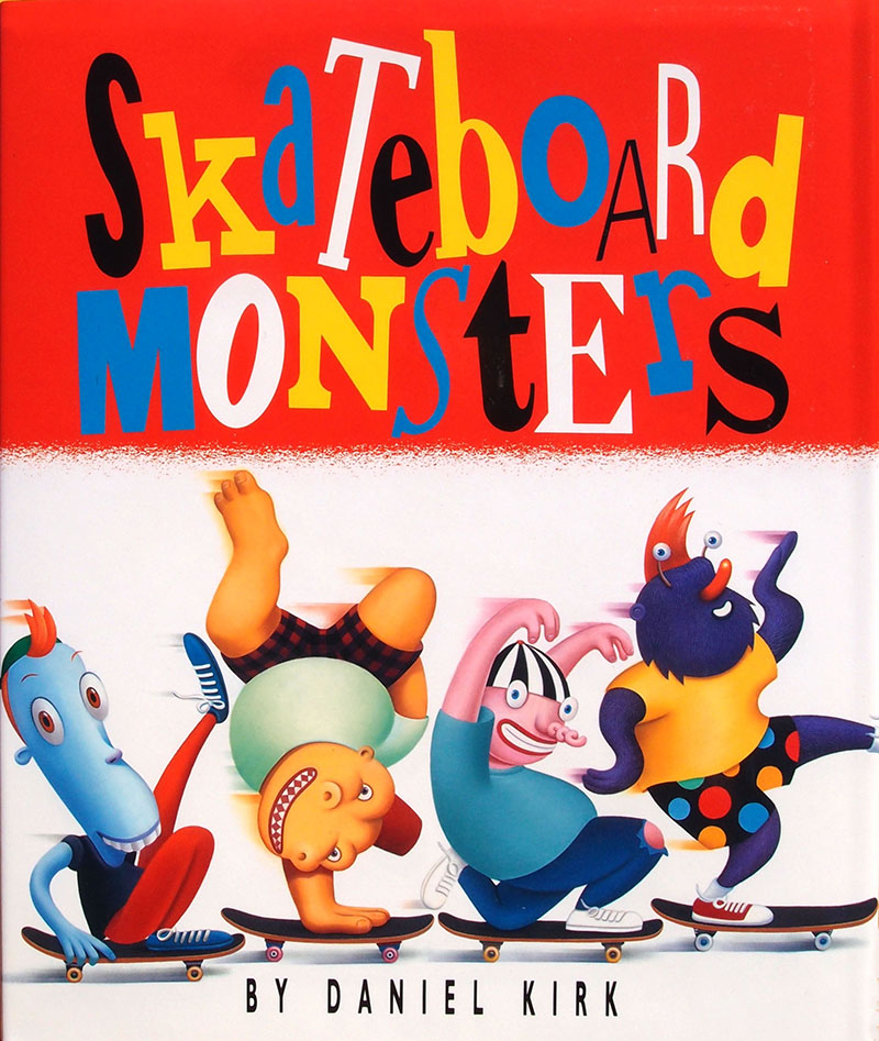 Skateboard Monsters
